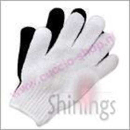 Picture of Exfoiliating Gloves White