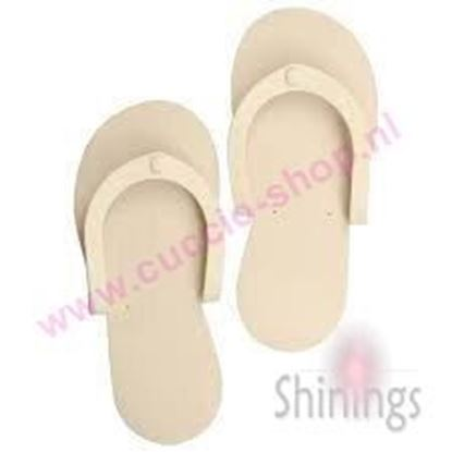 Picture of Spa Slippers Beige