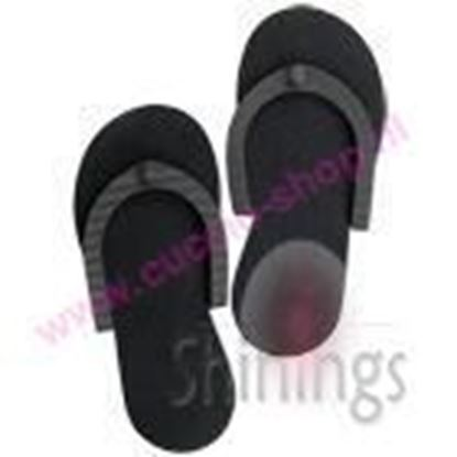 Picture of Spa Slippers Black