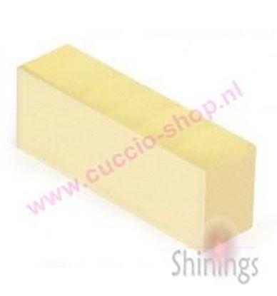 Afbeeldingen van Yellow Softie Block 400/400 grit