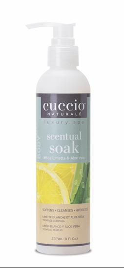 Afbeelding van Scentual Soak 3 in 1 White Limetta & Aloe Vera 237ml