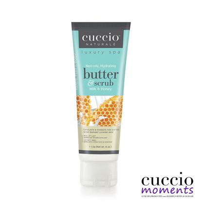 Picture of Tube Butterscrub Milk & Honey 113 gram