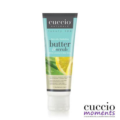 Picture of Tube Butterscrub White Limetta & Aloe Vera 113 gram