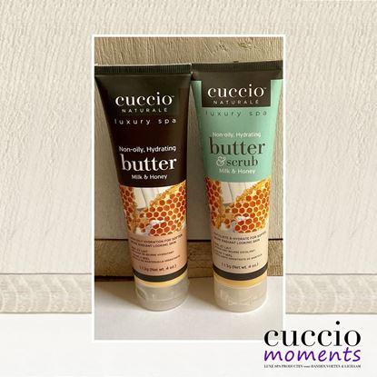 Afbeeldingen van Cadeauset Butterblend & Butterscrub Milk & Honey 113 gram