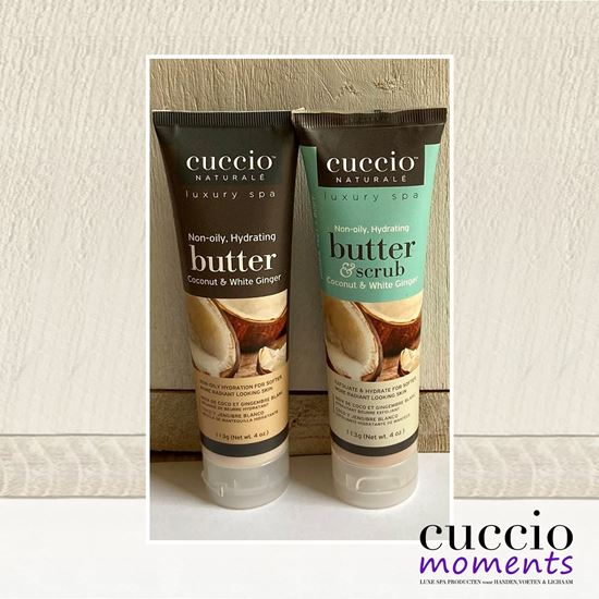 Picture of Cadeauset Butterblend & Butterscrub Coconut & White Ginger 113 gram