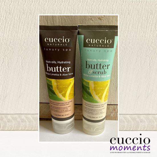 Afbeelding van Cadeauset Butterblend & Butterscrub White Limetta & Aloe Vera 113 gram