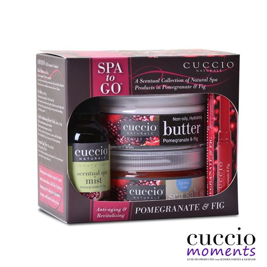 Picture of Spa-to-Go kit Pomegranate & Fig
